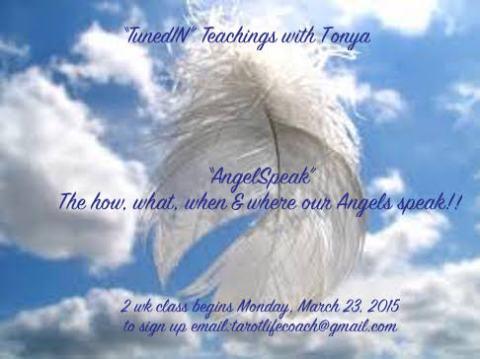 TunedIN Teachings-AngelSpeak!