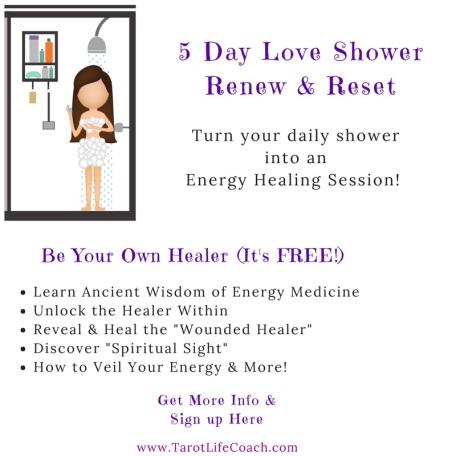 5 Day Love Shower Renew & Reset
